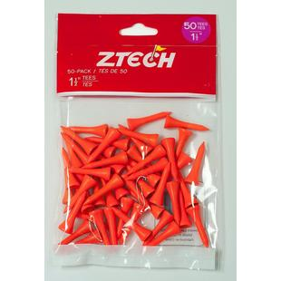 1.25 Inch 50 Pack Tees - Orange