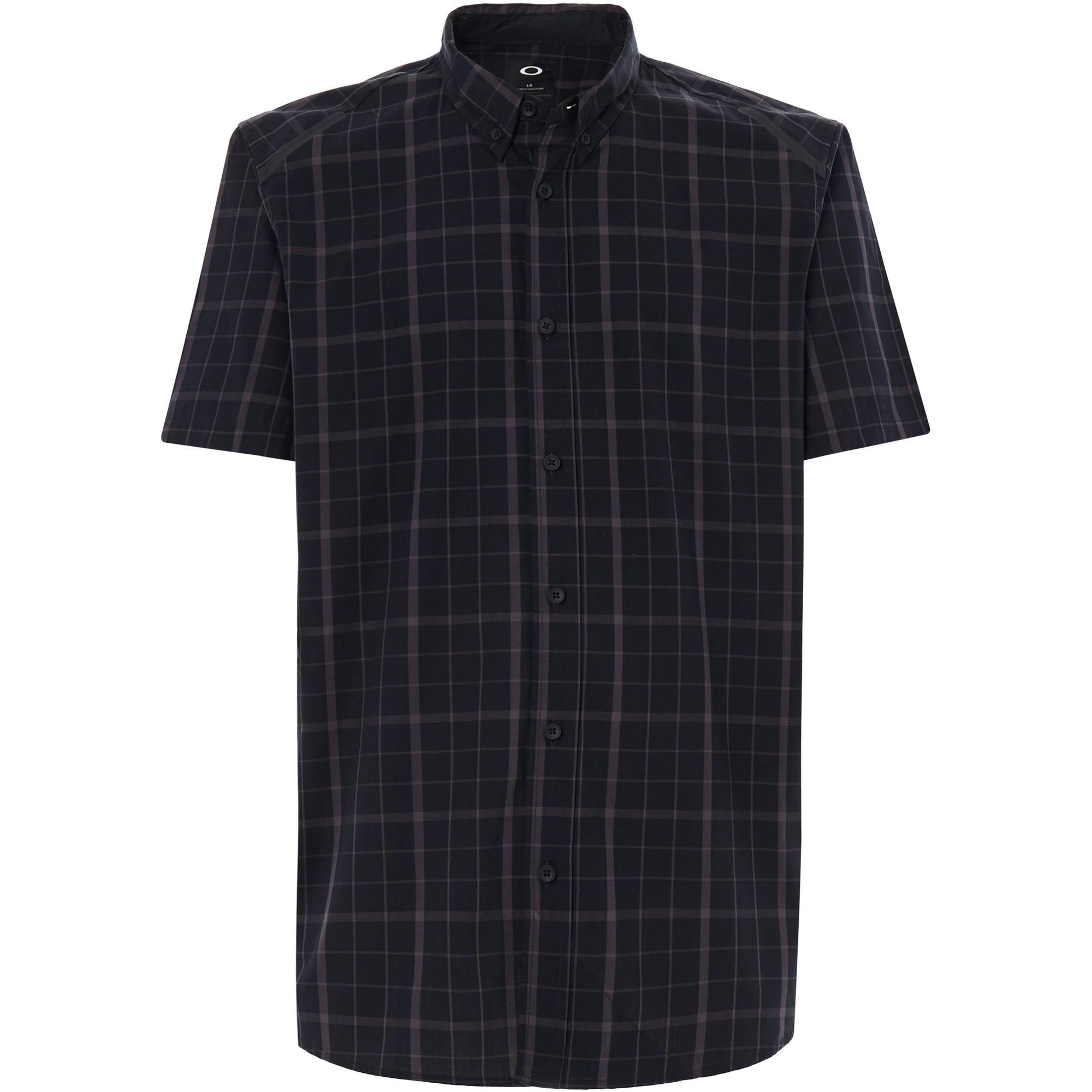 Men's Local SS Plaid Short Sleeve Polo