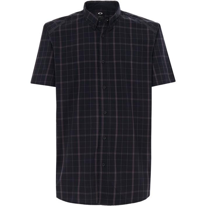 Men's Local SS Plaid Short Sleeve Polo