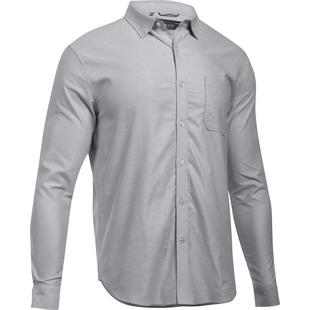 Men's Performance Fall Oxford Long Sleeve Polo
