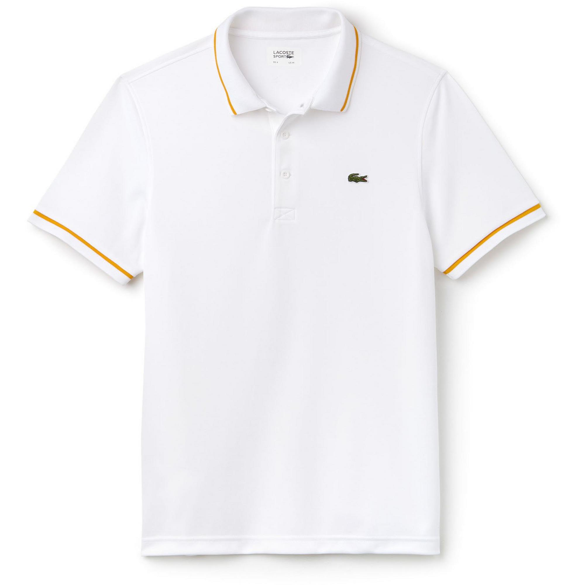 Men's Ultra-Dry Piping Pique Short Sleeve Polo