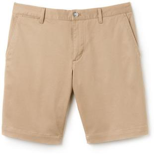 Men's Gabardine Slim Fit Bermuda Shorts