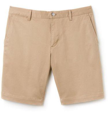À Gabardine Pour Hommes En Coupe Court Bermuda Étroite Pantalon Yp1OqE7Wz
