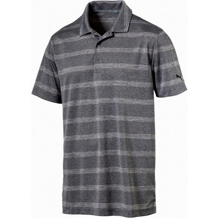 Men's Pounce Stripe Short Sleeve Polo