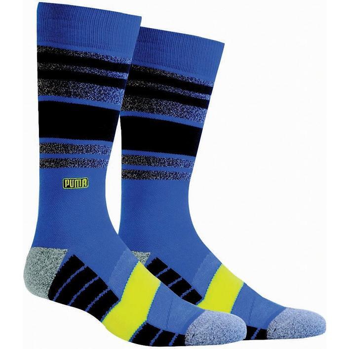Men's Fusion Stripe Crew Socks