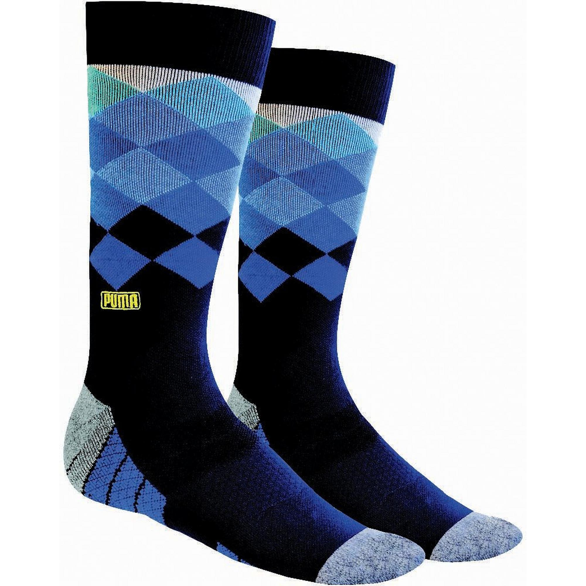 Men's Fusion Argyle Crew Socks