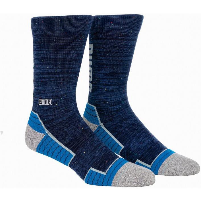 Men's Fusion Wordmark Crew Socks