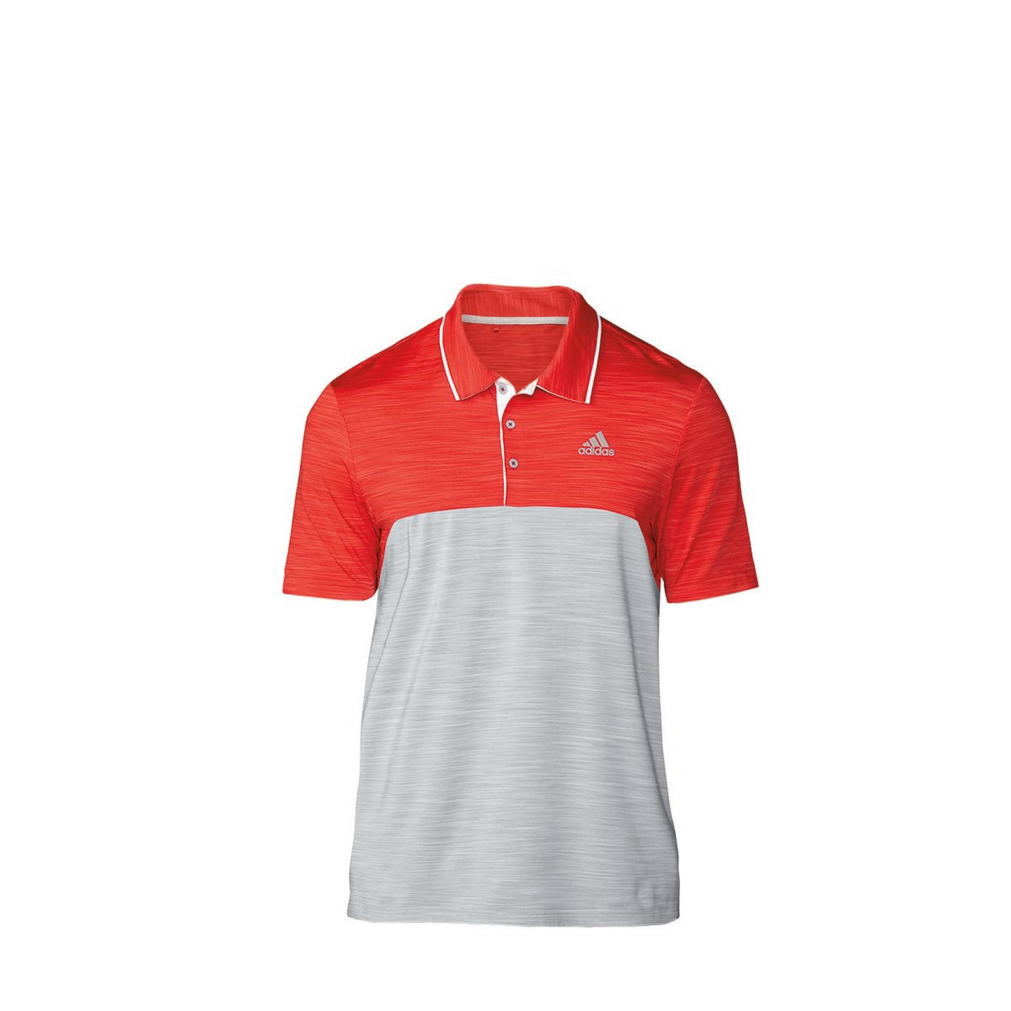 Men's Ultimate Heathered Short Sleeve Polo