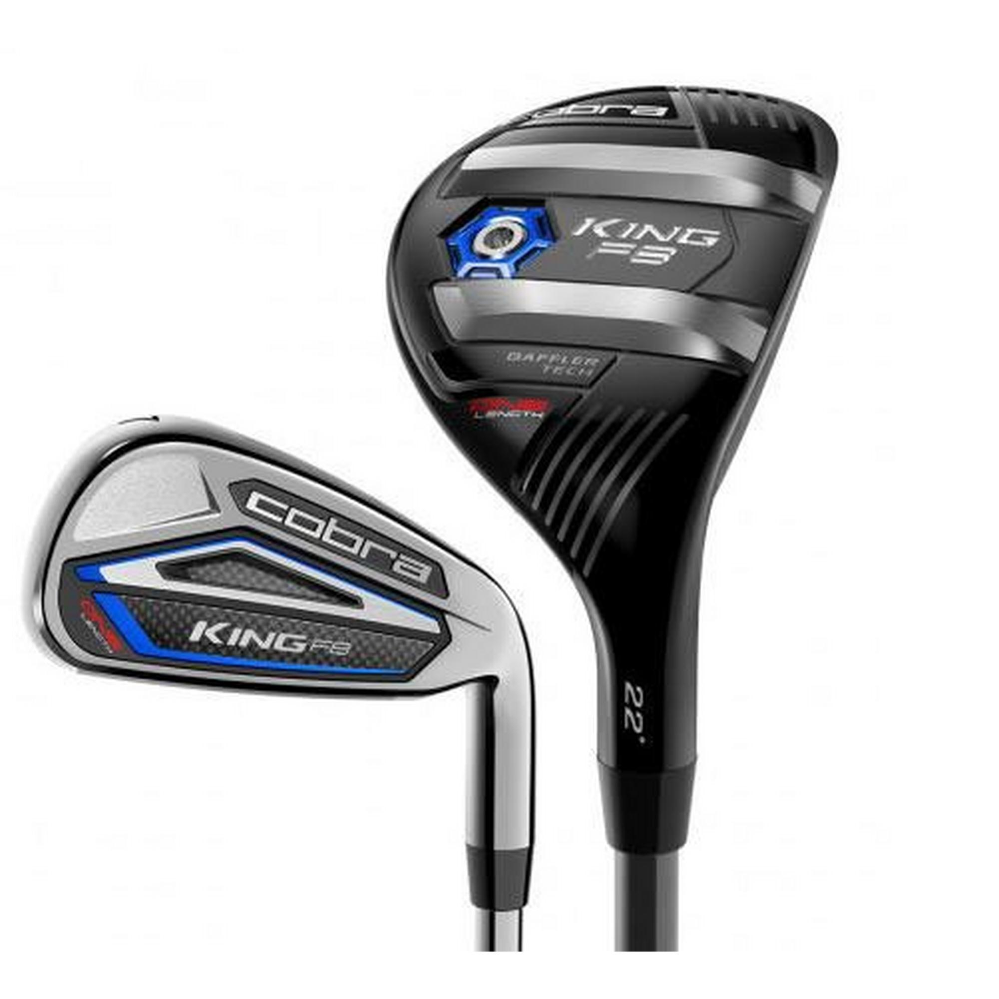 King F8 One Length 5H, 6-PW, GW Combo Iron Set with Graphite Shafts