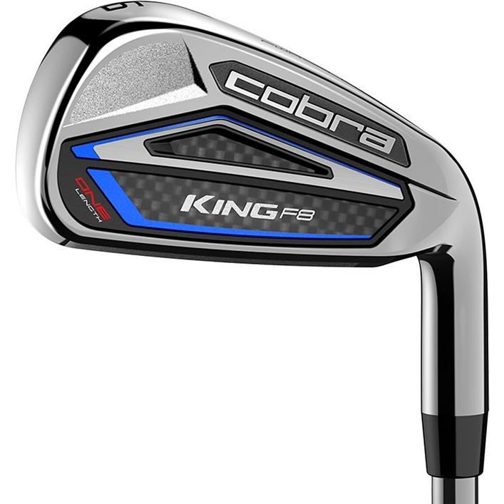 King F8 One 5-PW, GW Iron Set with Steel Shafts