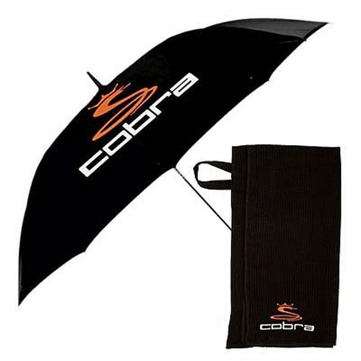 Ensemble parapluie et serviette