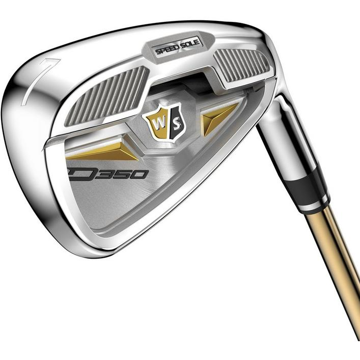 D300 Lady 5-PW,GW Iron Set With Graphite Shaft