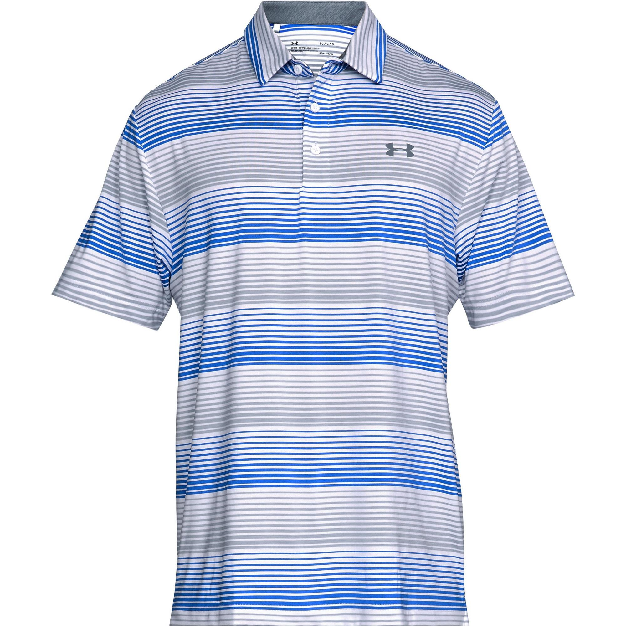 4f144e4372 Men's Playoff Blast Stripe Short Sleeve Polo | UNDER ARMOUR | Golf Town  Limited