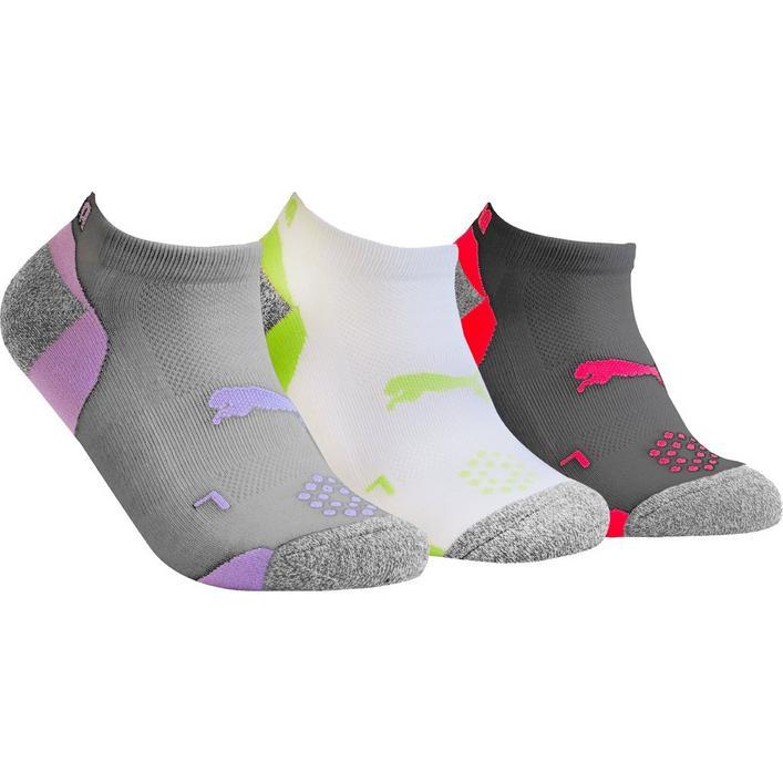 Women's Pounce Low Cut Socks, 3 pk