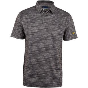 Men's B&T Space Dye Short Sleeve Polo