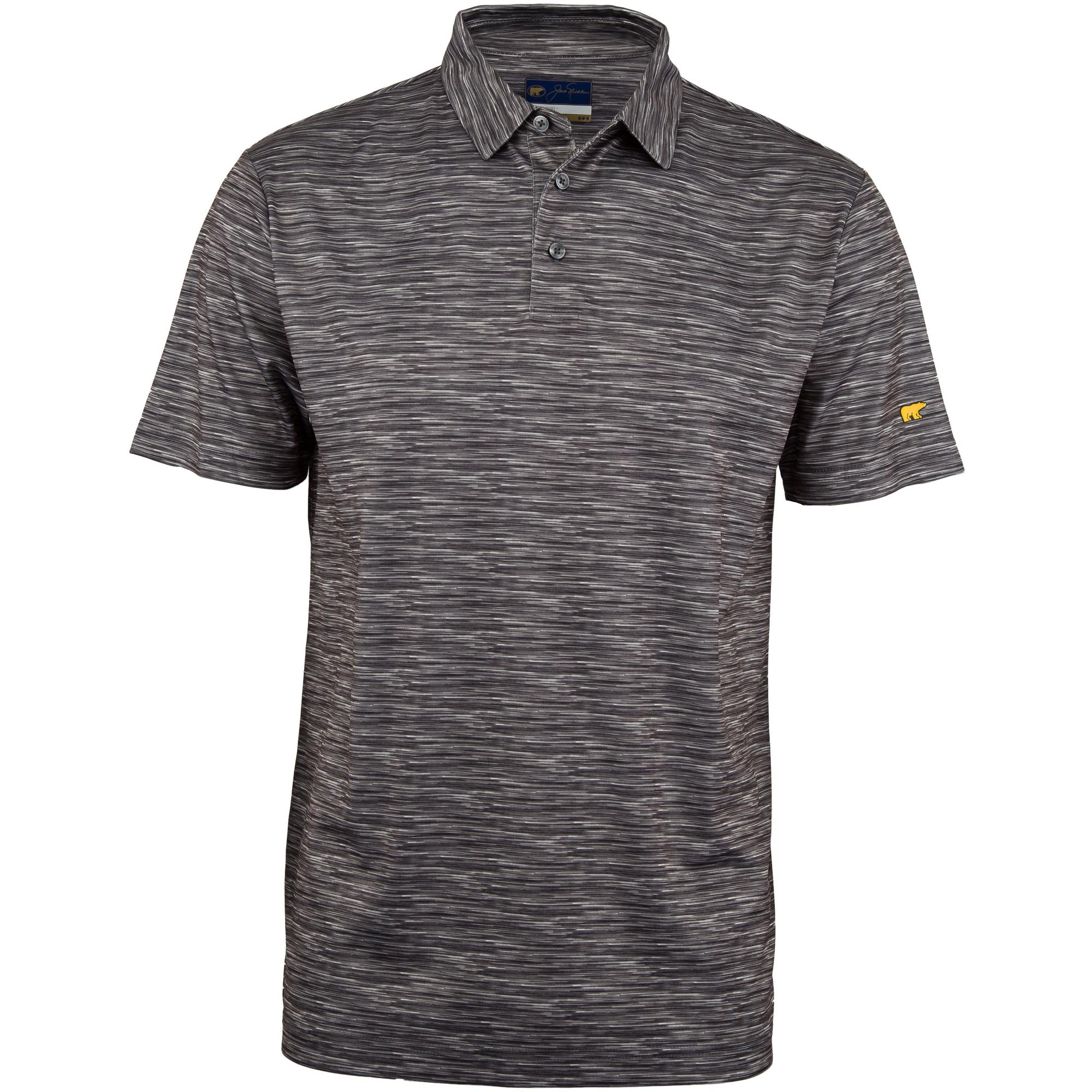 Men's B&T Space Dye Short Sleeve Polo