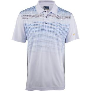 Men's Fading Cube Short Sleeve Polo