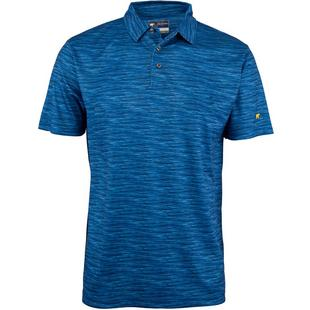 Men's Space Dye Short Sleeve Polo