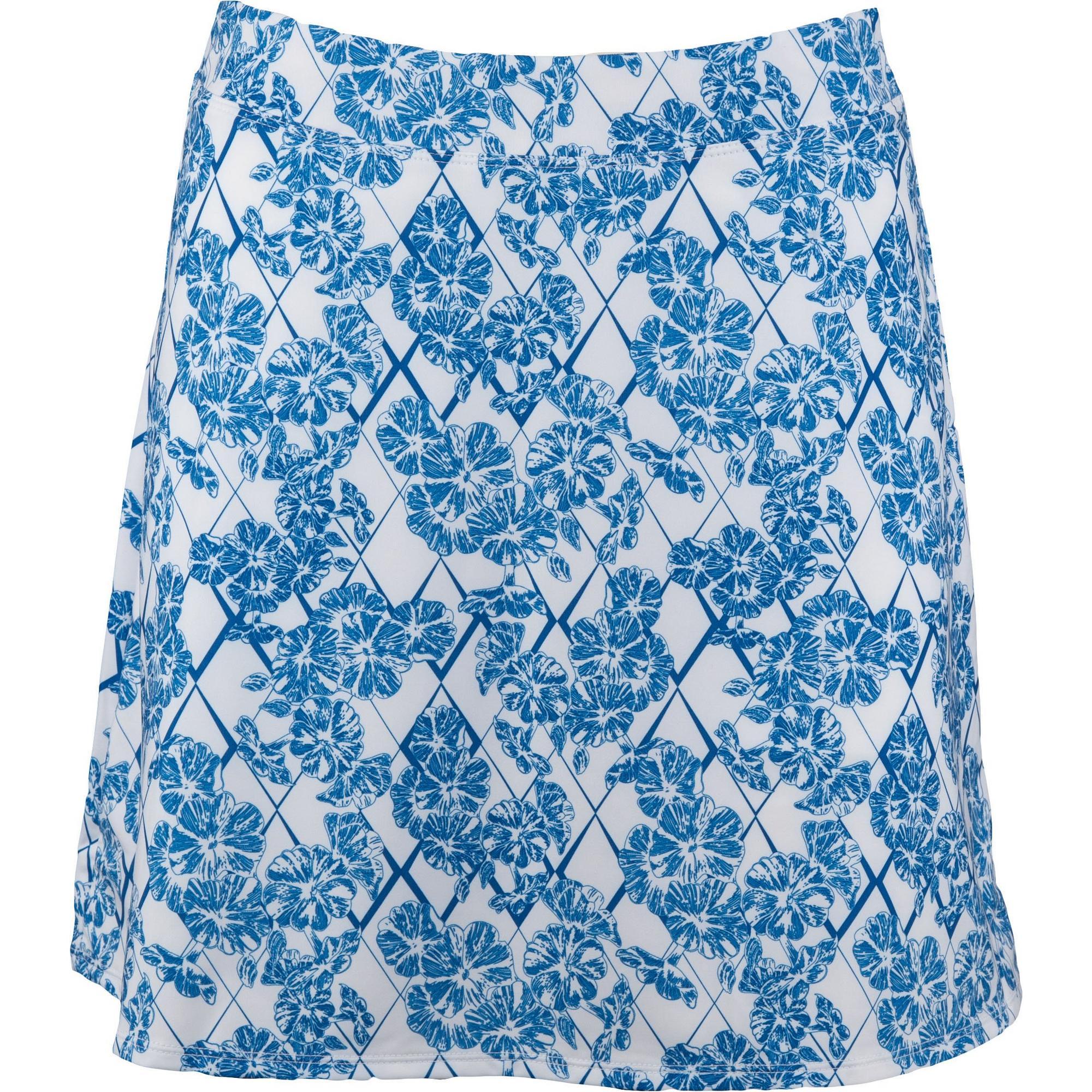 Women's Floral Print Swing Knit Skort