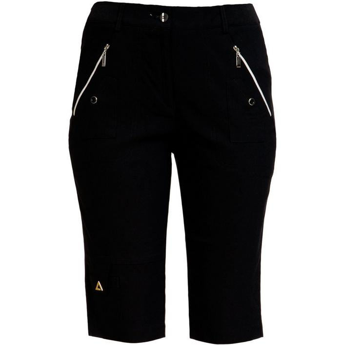 Womens Skinnylicious Knee Capri 24.5 Inch Hugger