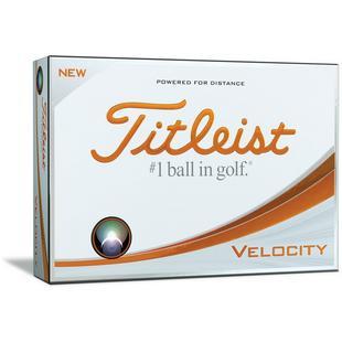 Velocity Golf Balls - White