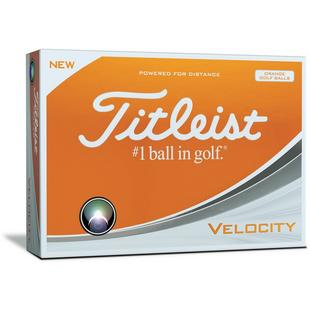 Velocity Golf Balls - Orange