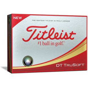 DT Trusoft Golf Balls - White