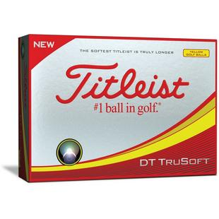 DT TruSoft Golf Balls - Yellow
