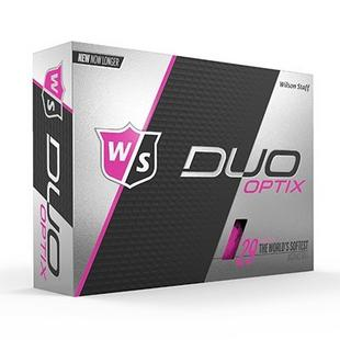 Wilson DUO Optix Golf Balls - Pink