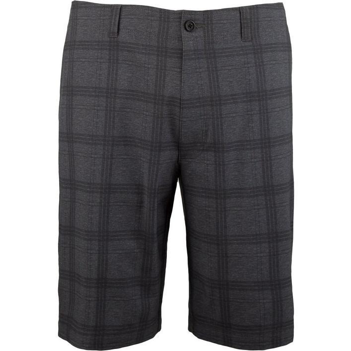 Men's Printed Plaid Short
