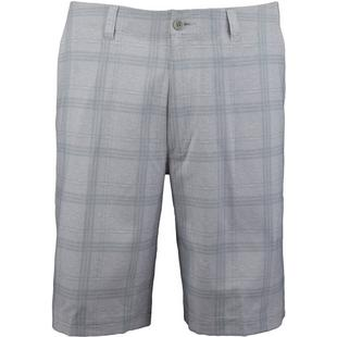 Men's Printed Plaid Short