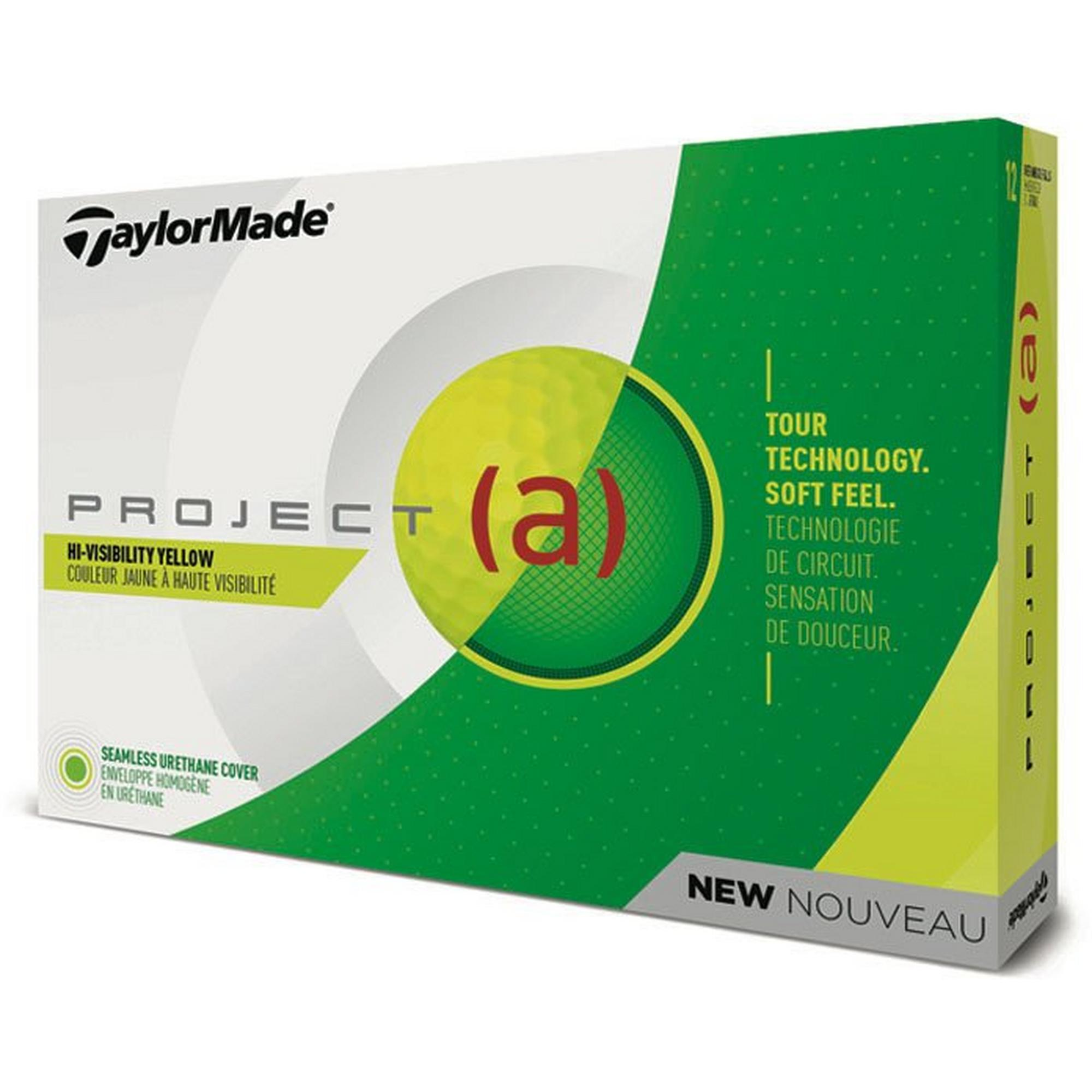 Project (a) Golf Balls - Yellow