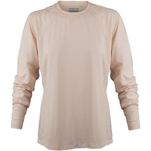 Womens Cooling Crew Neck Long Sleeve Top