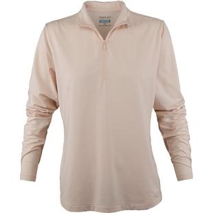 Womens Cooling Long Sleeve Quarter Zip