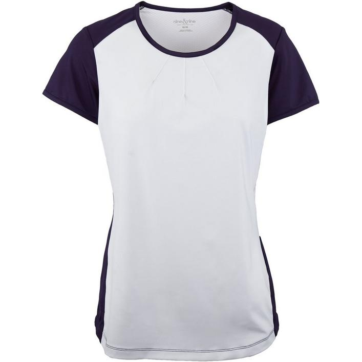 Womens Short Sleeve Crew Neck Fitness Top