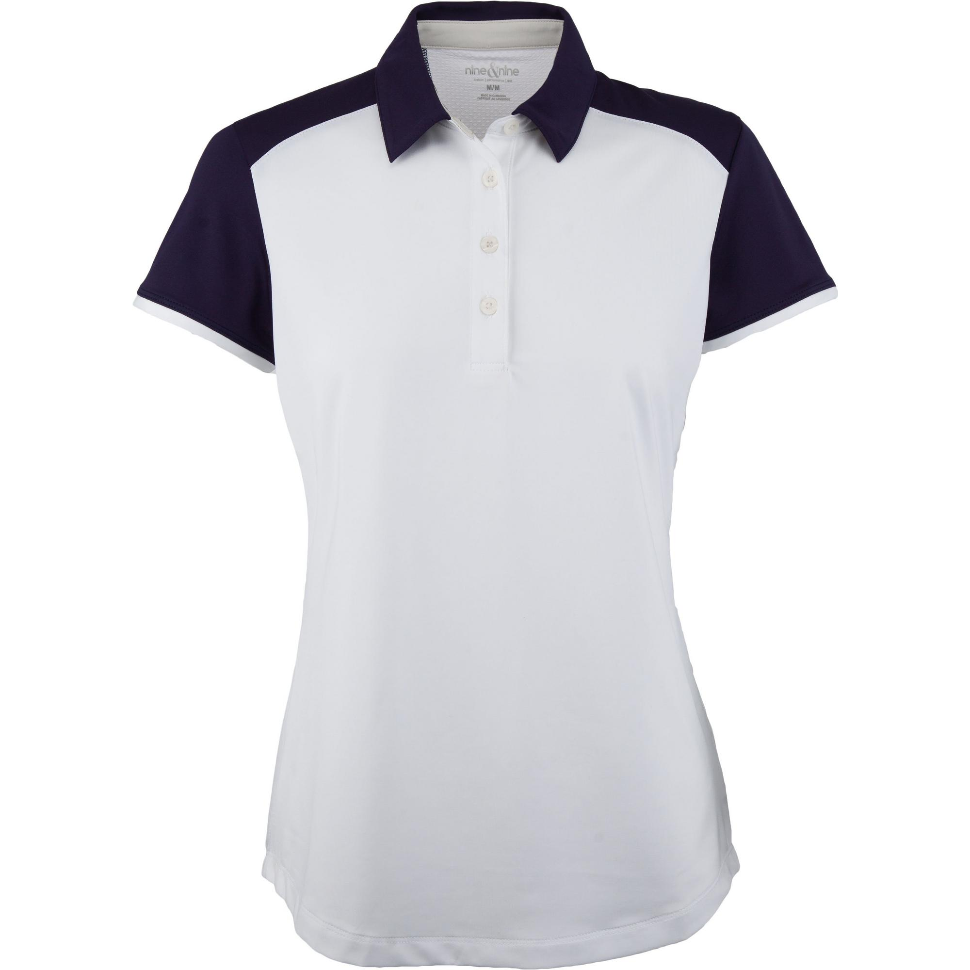 Women's Short Sleeve Solid Polo