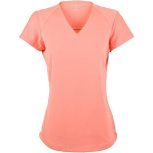 Women's Short Sleeve No Collar Top