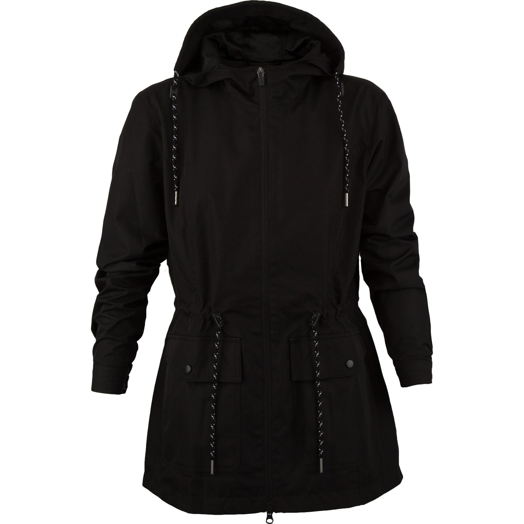 Womens Water Repellant Hooded Jacket