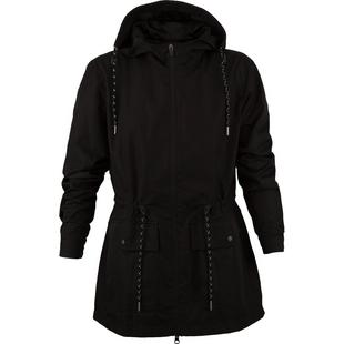 Womens Water Repellant Hooded Jacket