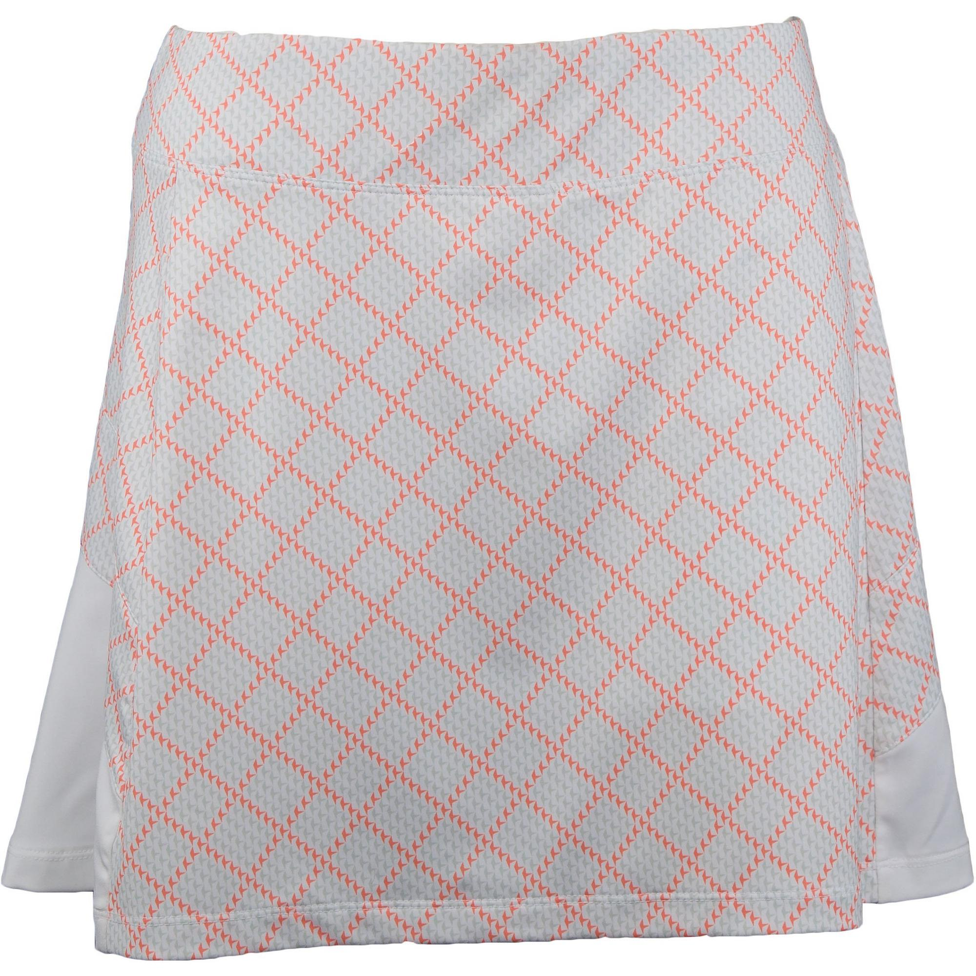 Women's Herringbone Check Print Skort