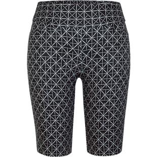 Womens Mulligan 11 Inseam Pull On Printed Short