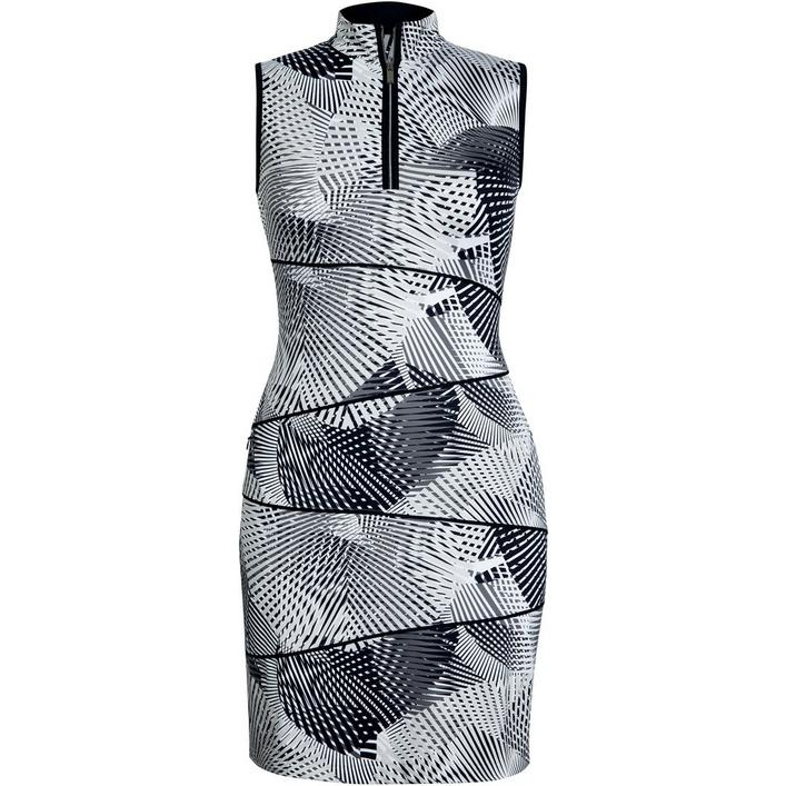 Women's Sleeveless Agility Print Golf Dress