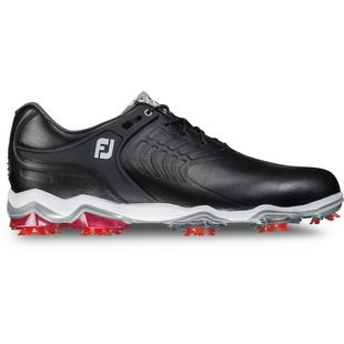 Mens Tour S Spiked Golf Shoe - BLK/RED