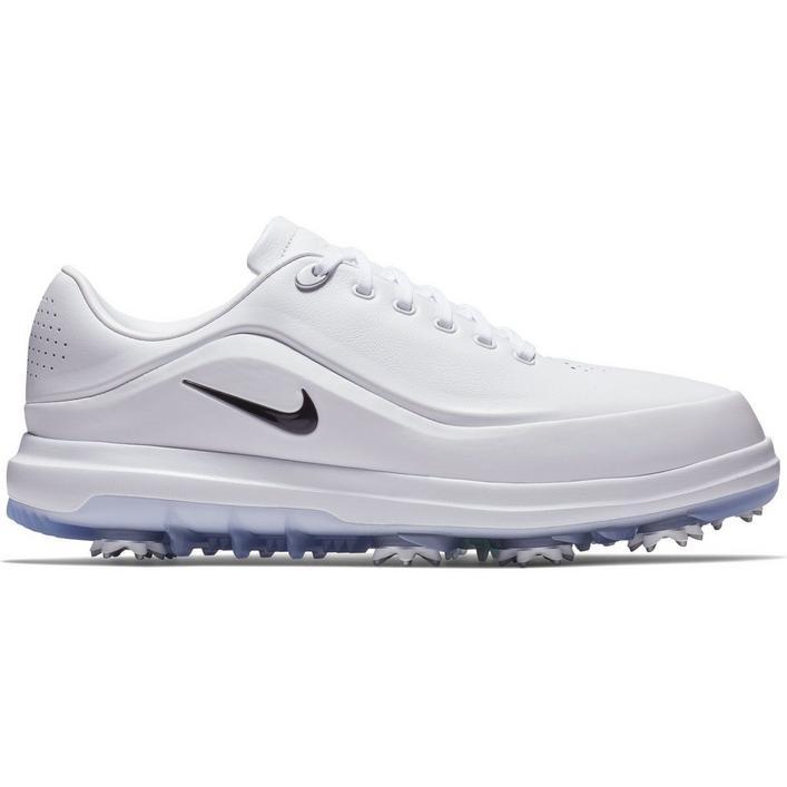 Chaussures Air Zoom Precision à crampons pour hommes - Blanc
