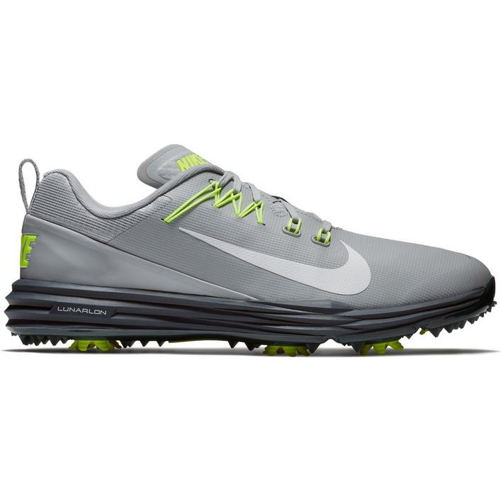 Mens Lunar Command 2 Spiked Golf Shoe - GRY