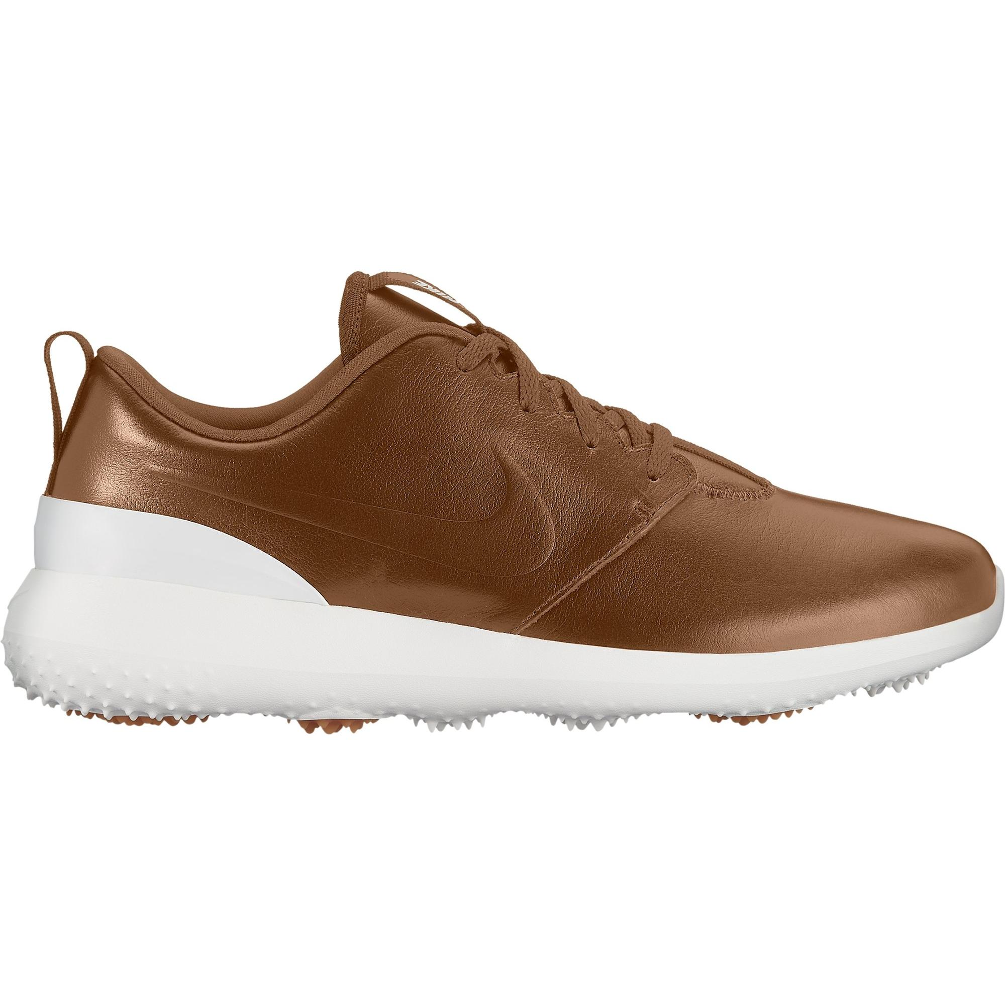 Men's Roshe G Premium Spikeless Golf Shoe – Brown