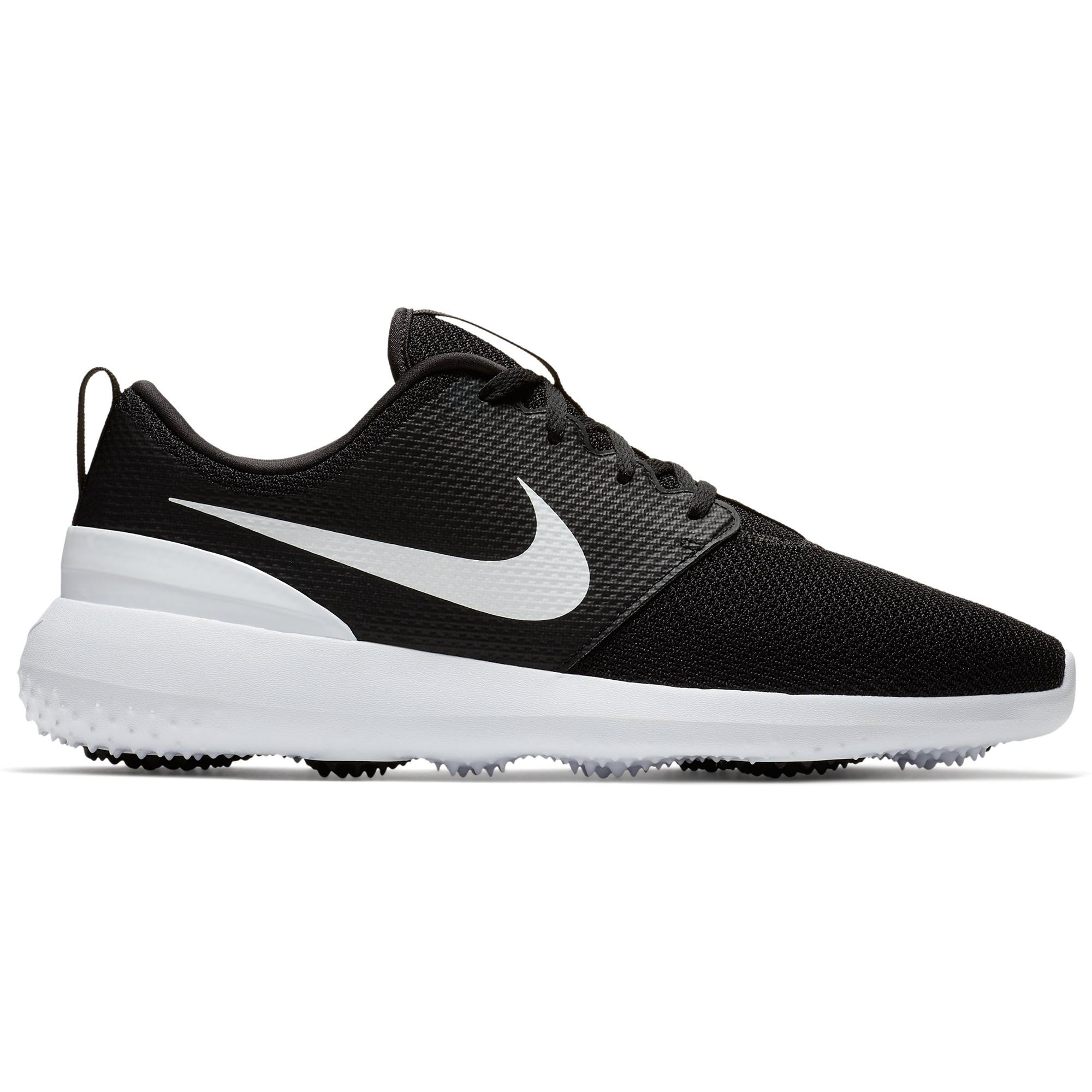 Mens Roshe G Spikeless Golf Shoe - Black