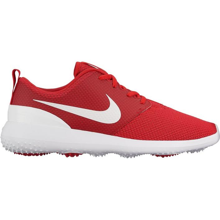 Mens Roshe G Spikeless Golf Shoe - RED