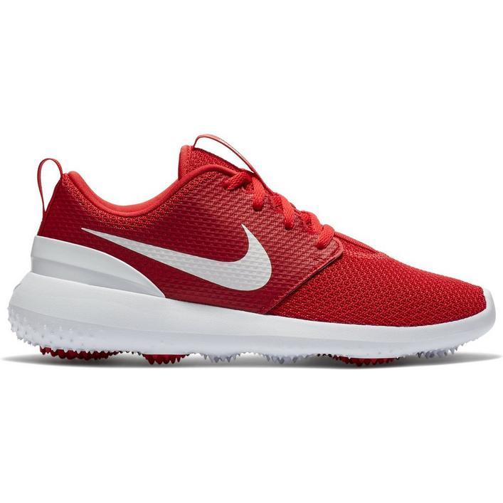 Junior Roshe G Spikeless Golf Shoe - RED
