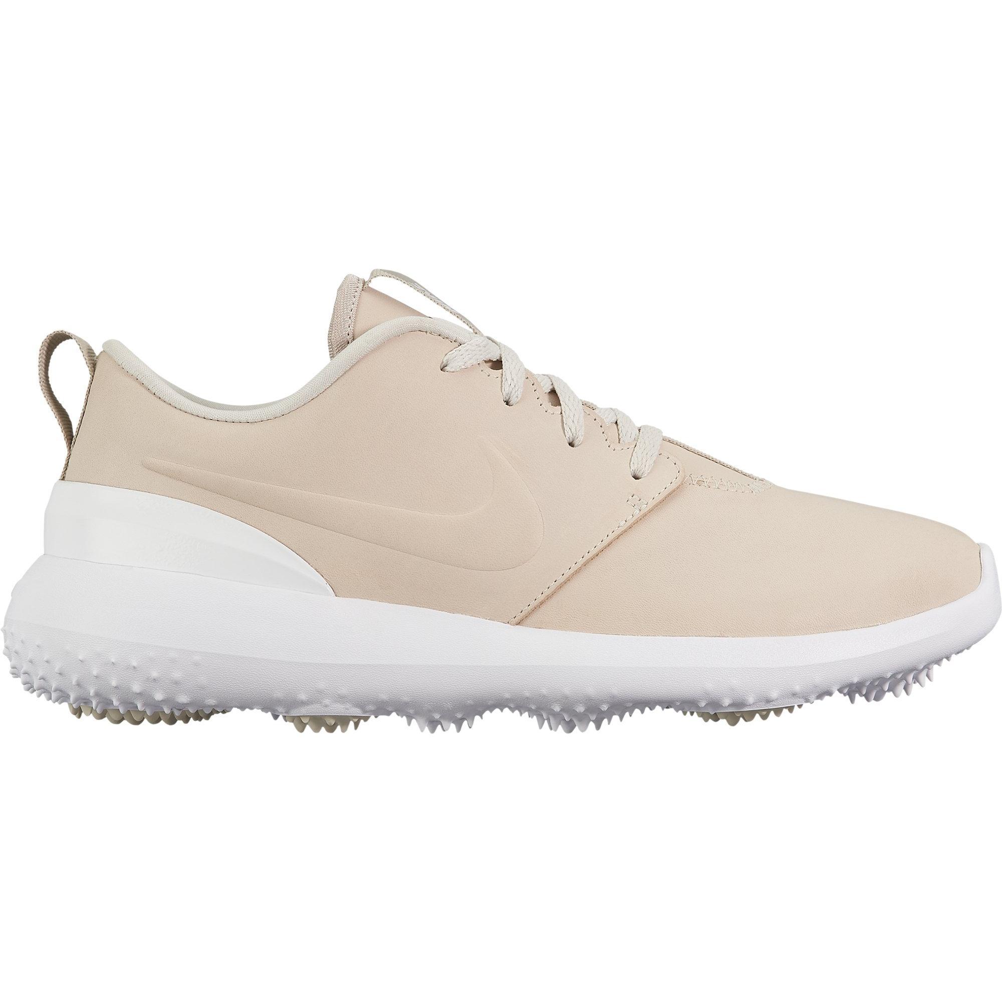 Women's Roshe G Premium Spikeless Golf Shoe – Light Beige